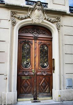 Wooden and ornate door | Flickr - Photo Sharing!