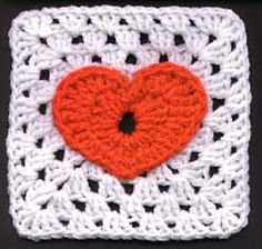 Perfect for Valentine's or for a special afghan, this little square with a heart is adorable! Jackie's Heart Granny Square by Jackie Tyler is a sweet 6 inch granny square with bold heart that can be used to make dishcloths, potholders, coasters or just adorable, cute baby blankets. This pattern can be easily used to …