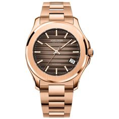 Mechanical Watches-Self Wind-Water Resistant Swiss Watch Brands, Stainless Steel Table, Fine Men, Mechanical Watch, Automatic Watch, Cowhide Leather, Luxury Watches, Leather Fashion, Gold Watch