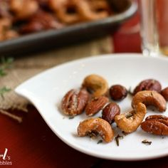 Spiced rosemary & thyme nuts