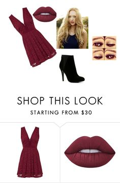 """Untitled #376"" by sodapop-999 ❤ liked on Polyvore featuring Free People, Lime Crime and ALDO"