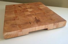 Board Basics: How To Make An End Grain Cutting Board