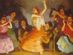 Dans de Gitanes by Kees (Cornelis Johannes) Maks Global Art, Dance Music, Art Market, Past, Painting, Past Tense, Ballroom Dance Music, Painting Art, Paintings