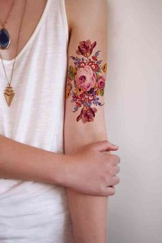 35 Best Flower Tattoos For Women That Will Inspire You To Get Inked Over The Summer | YourTango