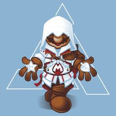 Mario's Creed #nintendo