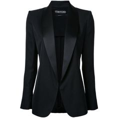 Tom Ford Classic Blazer (18 865 SEK) ❤ liked on Polyvore featuring outerwear, jackets, blazers, blazer jacket, tom ford blazer, tom ford and tom ford jacket