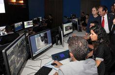 Inaugurado Centro de Controle de Videomonitoramento