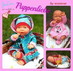 Jolinas Welt: Puppenliebe - Das Weihnachtsgeschenk für nähende Mädchenmamas, Puppenkleidung nähen