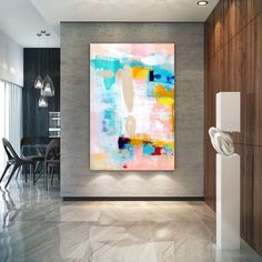 Extra Large Wall Art Original Painting on Canvas Contemporary Wallart Modern Abstract Living Room Wall ArtColorful Abstract Painting Texture Painting On Canvas, Canvas Paintings, Abstract Paintings, Large Painting, Contemporary Wall Art, Modern Wall Decor, Modern Art, Large Abstract Wall Art, Canvas Wall Art