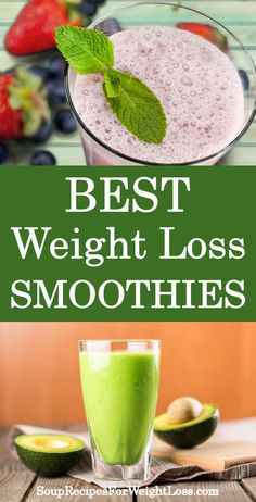 Best Weight Loss Smoothie Recipes #weightlossbeforeandafter