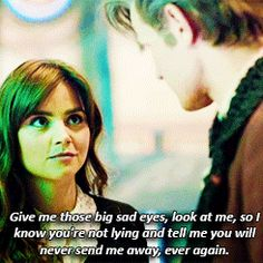 Image result for clara oswald look a me
