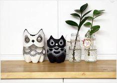 """Abbellite la vostra #casa con oggetti """"fai da te!""""... come questi carinissimi #gufi. :)  Realizzarli non è difficilissimo, in più potrete diminuire gli #sprechi utilizzando gli scarti che avete a casa!  http://www.greenme.it/abitare/accessori-e-decorazioni/12753-10-gufi-fai-da-te-dal-riciclo-creativo"""
