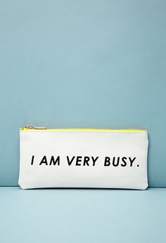 ban.do Busy Pencil Pouch | FOREVER21 | #f21home