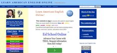 Review of Learn American English Online published on Find ... #tefl #esl #learnenglish http://www.findenglishlessons.net/learners/learn-american-english-online/ …