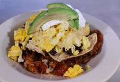 Chilaquiles Breakfast - inspired by Chicago's Au Cheval