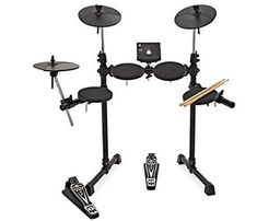 Digital Drums 400 Compact Electronic Drum Kit by Digital Drums, Instruments, Drum Kits, Compact, Electronics, Hobbies, Life, Snare Drum, Tops