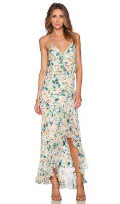Parker Halle Combo Maxi Dress in Monticello | REVOLVE