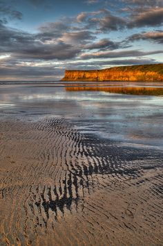 Sea coal Saltburn sunset by Gary Eason Landscape Photography, Nature Photography, Travel Photography, Travel Pictures, Cool Pictures, Places Around The World, Around The Worlds, Beautiful World, Beautiful Places