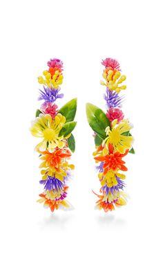 Fiesta Flower Earrings by Mercedes Salazar | Moda Operandi