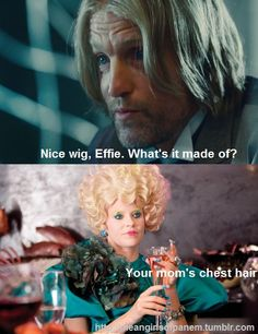 Mean Girls + hunger games = funny.