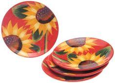 Certified International Sun Blossom 8-1/4-Inch Salad Plate, Set of 4 by Certified International Corp. $26.07