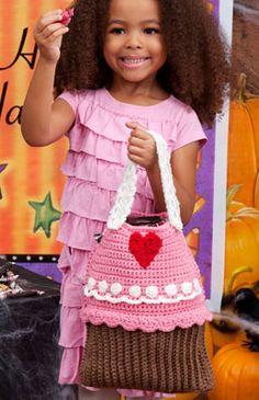 Cupcake Bag -Adorable ! | Free Patterns