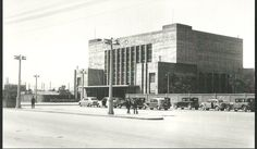 Railway station, Thessaloniki, 1956 Thessaloniki, Macedonia, Athens, Greece, Places To Visit, Old Things, Street View, History, Architecture