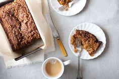 Applesauce Carrot Bread with Pecan Streusel recipe on Food52