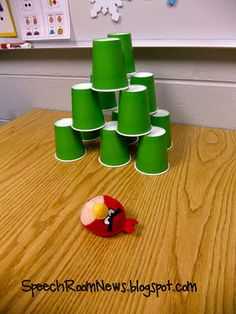 Angry birds speech therapy!