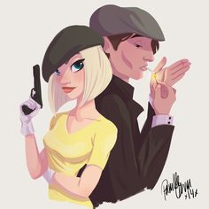 Bonnie and Clyde for Sketch Dailies