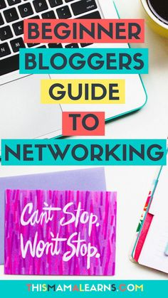 Are you holding back from networking with other bloggers because you're afraid you'll get laughed at for not knowing the secret blogger handshake? Newsflash - networking doesn't have to be terrifying. Here are some baby steps you can take to get you started. Click to learn what they are!