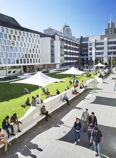 University of Technology- Sydney,Australia- Durbach Block Jaggers Architects + BVN Architecture + ASPECT Studios