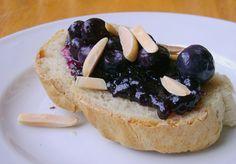 Blueberry Bruschetta