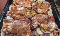 Cigánska na kastróle - Receptik.sk No Salt Recipes, Pork Recipes, Cooking Recipes, Czech Recipes, Hungarian Recipes, Pork Dishes, Food Inspiration, Love Food, Food Videos