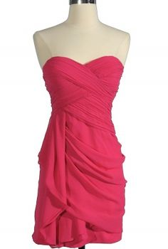 Chiffon Drape Dress