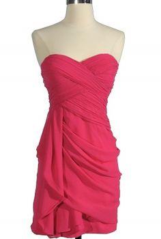 Chiffon Drape Dress