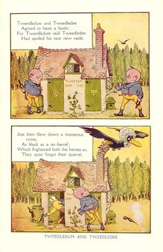 1919 Illustration found in The Book of Knowledge from an Ephemera Grab Bag on Children's Book Illustrations.