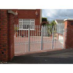 Metal Gates - Dublin Quality Gates - Gates and Railings Made to Order Wooden Garden Gate, Garden Gates, Gates And Railings, Side Gates, Metal Gates, Security Door, Dublin, Outdoor Decor, Home Decor