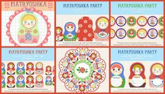 russian doll party invite ideas http://runwithglitter.blogspot.com.au/2011/07/babalisme-free-matryoshka-doll-party.html