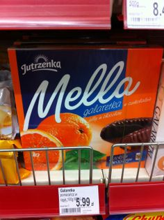 Gluten free gelly sweets in chocolate from the Polish brand Jutrzeka http://glutenfreelady.nl/category/traveling/poland/ustka/