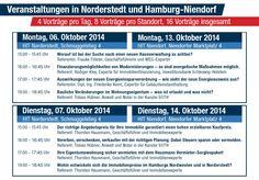 Unser Programm zum Wohneigentum - Forum Hamburg und Norderstedt. Zum Download auf http://veranstaltungen.hausmann-makler.de/