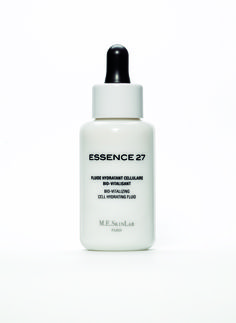 ESSENCE27 BIO-VITALIZING CELL HYDRATING FLUID  Powerful Moisturiser Against De-hydration  Boosts cellular exchanges and micro-circulation Vitalizes the skin and brightens the complexion Soothing cream : soothes the skin and inhibits mediators of inflammation. Skin treatment for every skin type, recommended for dehydrated and devitalized skins. 99% natural ingredients – paraben free.