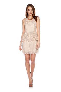 Milly | Hire | Hire Liza peplum dressdress at WishWantWear