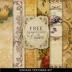 Freebies Vintage Fondos
