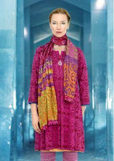 """Kleid """"Smilla"""" aus Baumwolle/Modal"""