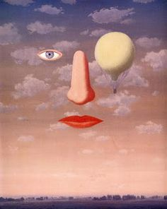surrealism: The beautiful relations by René Magritte, Oil on canvas. Rene Magritte, Artist Magritte, Salvador Dali, Conceptual Art, Surreal Art, Surreal Portraits, Magritte Paintings, Oil Paintings, Indian Paintings