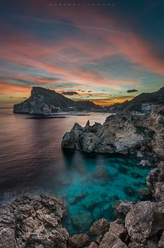 ponderation: In Palaiokastritsa II by coseco Nature Images, Nature Pictures, Beautiful Pictures, Scenic Photography, Landscape Photography, Nature Photography, Beautiful Sunset, Beautiful World, Hades Disney