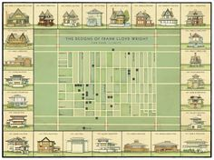 The Designs of Frank Lloyd Wright: Oak Park, IL.