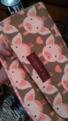 Pig purse.