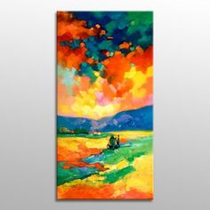 Oil Painting Landscape Abstract Canvas Painting, #extralargepainting #oilpainting #customoilpainting #largeart #abstractart #canvasart #bedroomdecor #modernpainting #abstractcanvasart #wallhanging #largepainting #decorwallhanging #largeabstractart Small Canvas Paintings, Abstract Canvas Art, Large Painting, Oil Painting Abstract, Landscape Paintings, Oil Paintings, Painting Process, Large Art, Contemporary Paintings
